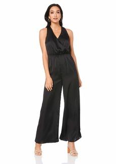 findersKEEPERS Women's Whisper Wide Leg Sleeveless WRAP Jumpsuit  S