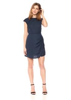 findersKEEPERS Women's Zephyr Short Sleeve Mini Dress  S