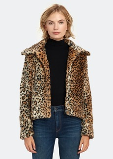 findersKEEPERS Louvre Crop Faux Fur Jacket - XL