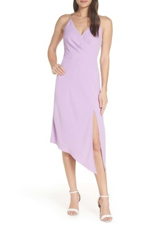 findersKEEPERS Mae Asymmetrical Hem Midi Dress