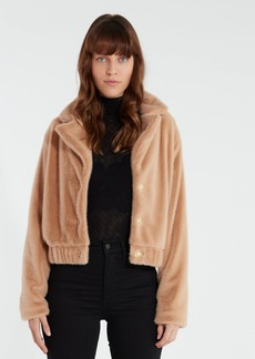 findersKEEPERS Sugar Faux Fur Crop Jacket - M - Also in: L, XS, S