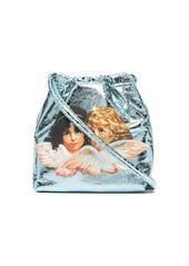 Fiorucci angels pouch bag blue
