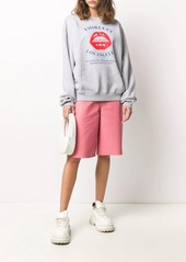 Fiorucci oversized lips sweatshirt