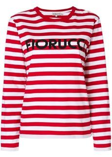 Fiorucci striped logo top