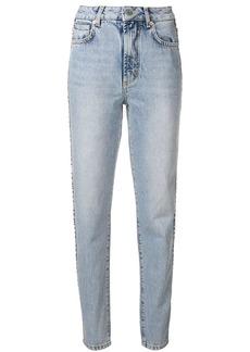 Fiorucci Tara log tape jeans