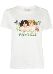 Fiorucci Woodland Angels print T-shirt