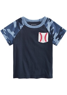 First Impressions Toddler Boys Baseball-Print Cotton T-Shirt, Created for Macy's