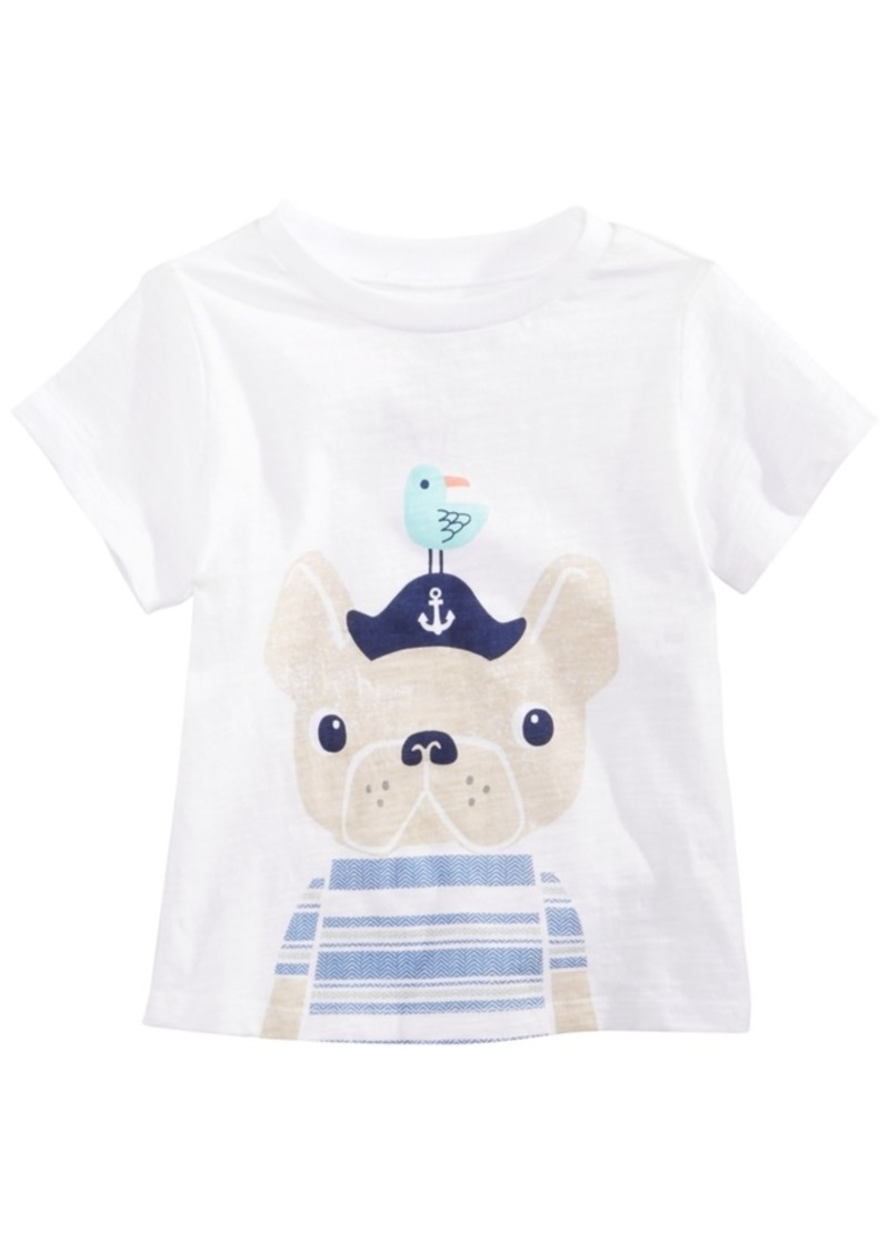 86839d97 First Impressions Toddler Boys Captain Dog Graphic T-Shirt, Created for  Macy's