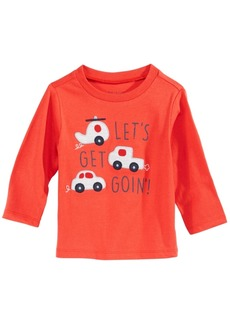 First Impressions Baby Boys Cars-Print Cotton T-Shirt, Created for Macy's