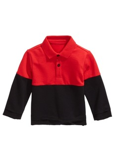 First Impressions Baby Boys Colorblocked Collared Shirt, Created for Macy's