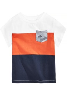 First Impressions Baby Boys Colorblocked Cotton T-Shirt, Created for Macy's