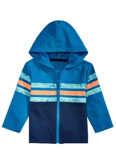 First Impressions Baby Boys Colorblocked Hoodie, Created for Macy's