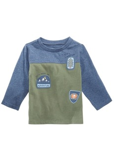 First Impressions Toddler Boys Colorblocked Patches T-Shirt, Created for Macy's