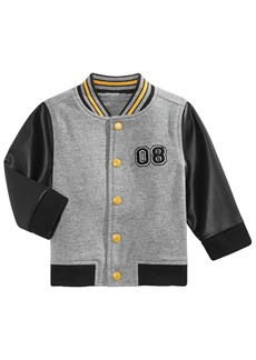 First Impressions Baby Boys Cotton Bomber Jacket, Created for Macy's