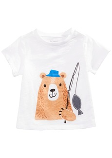 First Impressions Toddler Boys Cotton Graphic-Print T-Shirt, Created for Macy's
