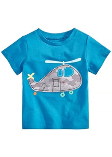 First Impressions Baby Boys Cotton Helicopter T-Shirt, Created for Macy's