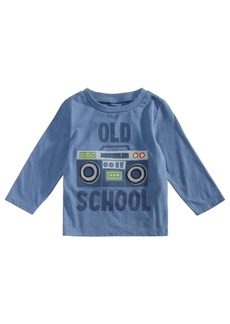 First Impressions Baby Boys Cotton Long Sleeve Graphic-Print T-Shirt, Created for Macy's