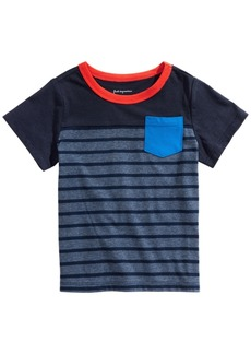 First Impressions Toddler Boys Cotton Pocket T-Shirt, Created for Macy's