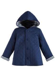 First Impressions Baby Boys Cotton Quilted Reversible Jacket, Created for Macy's