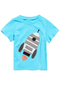 First Impressions Toddler Boys Cotton Rocket Ship T-Shirt, Created for Macy's