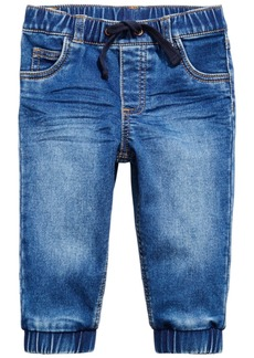 First Impressions Baby Boys Denim Jogger Pants, Created for Macy's