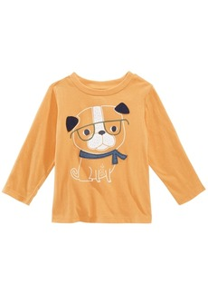 First Impressions Baby Boys Dog-Print Cotton T-Shirt, Created for Macy's