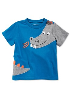First Impressions Baby Boys Dragon-Print Cotton T-Shirt, Created for Macy's