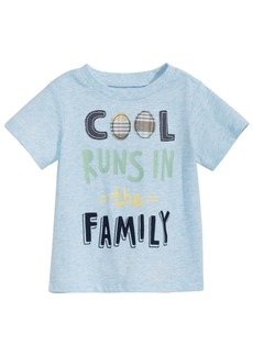 First Impressions Baby Boys Family-Print T-Shirt, Created for Macy's