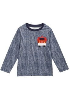 First Impressions Baby Boys Firetruck-Print Cotton T-Shirt, Created for Macy's
