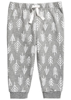 First Impressions Baby Boys Forest-Print Jogger Pants, Created for Macy's