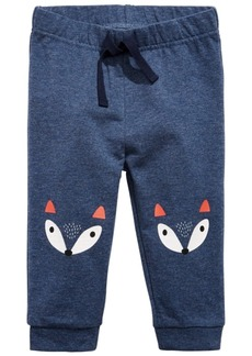 First Impressions Baby Boys Fox Jogger Pants, Created for Macy's