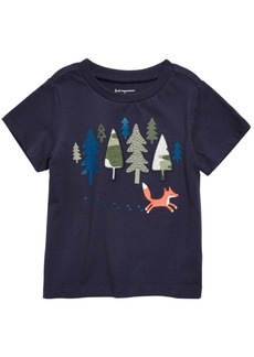 First Impressions Baby Boys Fox-Print Cotton T-Shirt, Created for Macy's