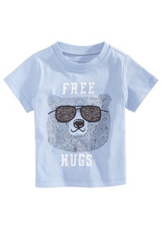 First Impressions Toddler Boys Hugs-Print Cotton T-Shirt, Created for Macy's