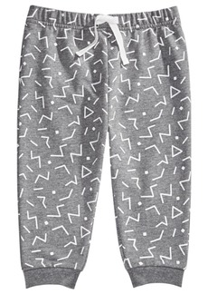 First Impressions Baby Boys Geo-Print Joggers, Created For Macy's