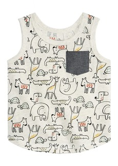 First Impressions Baby Boys Graphic-Print Tank Top, Created for Macy's