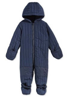 First Impressions Baby Boys Hooded Footed Puffer Snowsuit, Created for Macy's