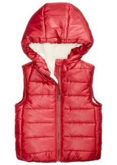 First Impressions Baby Boys Hooded Puffer Vest, Created for Macy's