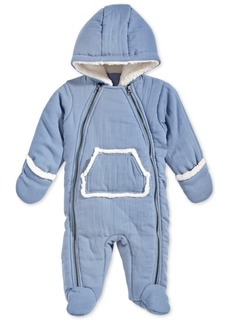 First Impressions Baby Boys Hooded Snowsuit, Created for Macy's