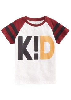 First Impressions Toddler Boys Kid-Print T-Shirt, Created for Macy's