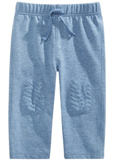 First Impressions Baby Boys Knee Patch Knit Pants, Created for Macy's
