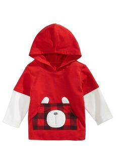 First Impressions Baby Boys Layered-Look Bear Hoodie, Created for Macy's