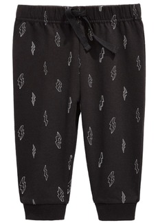 First Impressions Baby Boys Lightning Bolt Joggers, Created For Macy's
