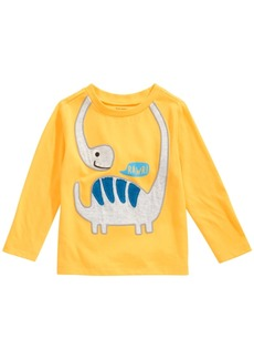 First Impressions Toddler Boys Long-Sleeve Dino Rawr T-Shirt, Created for Macy's