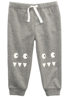 First Impressions Baby Boys Monster Jogger Pants, Created for Macy's