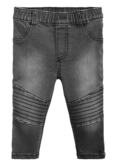 First Impressions Baby Boys Pull-On Moto Jeans, Created for Macy's