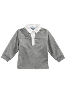 First Impressions Baby Boys Quilted Rugby Polo Shirt, Created for Macy's