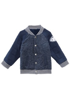 First Impressions Baby Boys Quilted Varsity Jacket, Created for Macy's