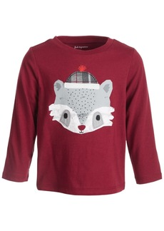 First Impressions Baby Boys Racoon Face Tee, Created for Macy's