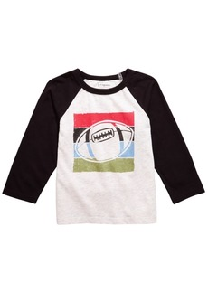 First Impressions Baby Boys Raglan Football T-Shirt, Created for Macy's