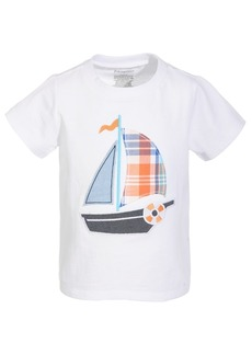 First Impressions Baby Boys Sailboat Cotton T-Shirt, Created for Macy's
